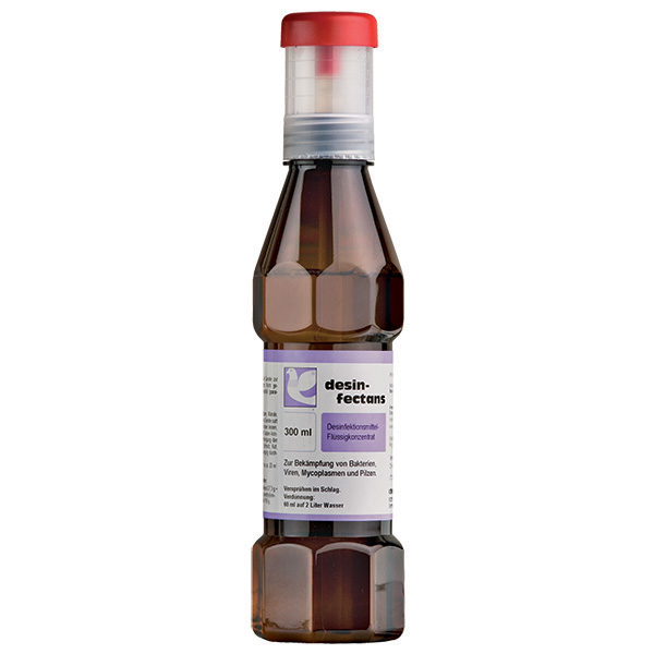 DISINFECTANS liquid - (loft disinfectant for the control of bacteria, viruses, mycoplasms & fungi)