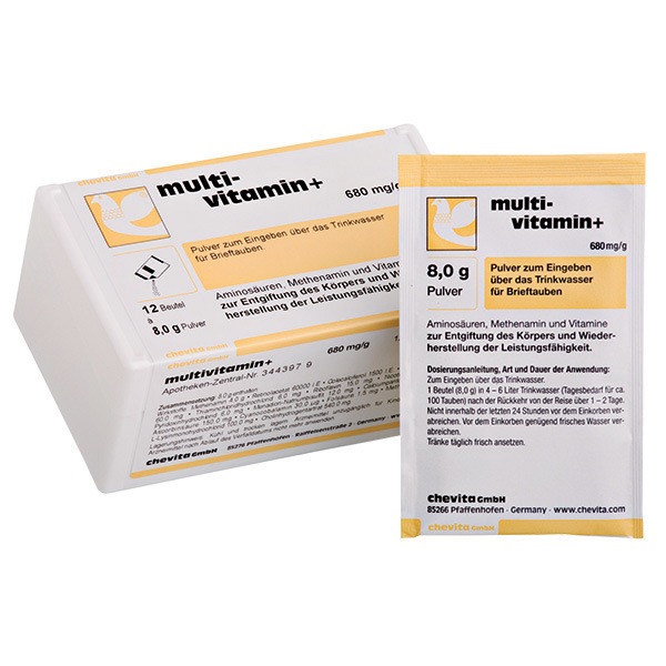 MULTIVITAMIN+ powder - (for detoxication, regeneration, recuperation)